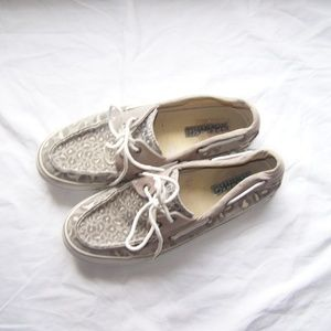 Sperry Top Sider Leopard Print Shoes
